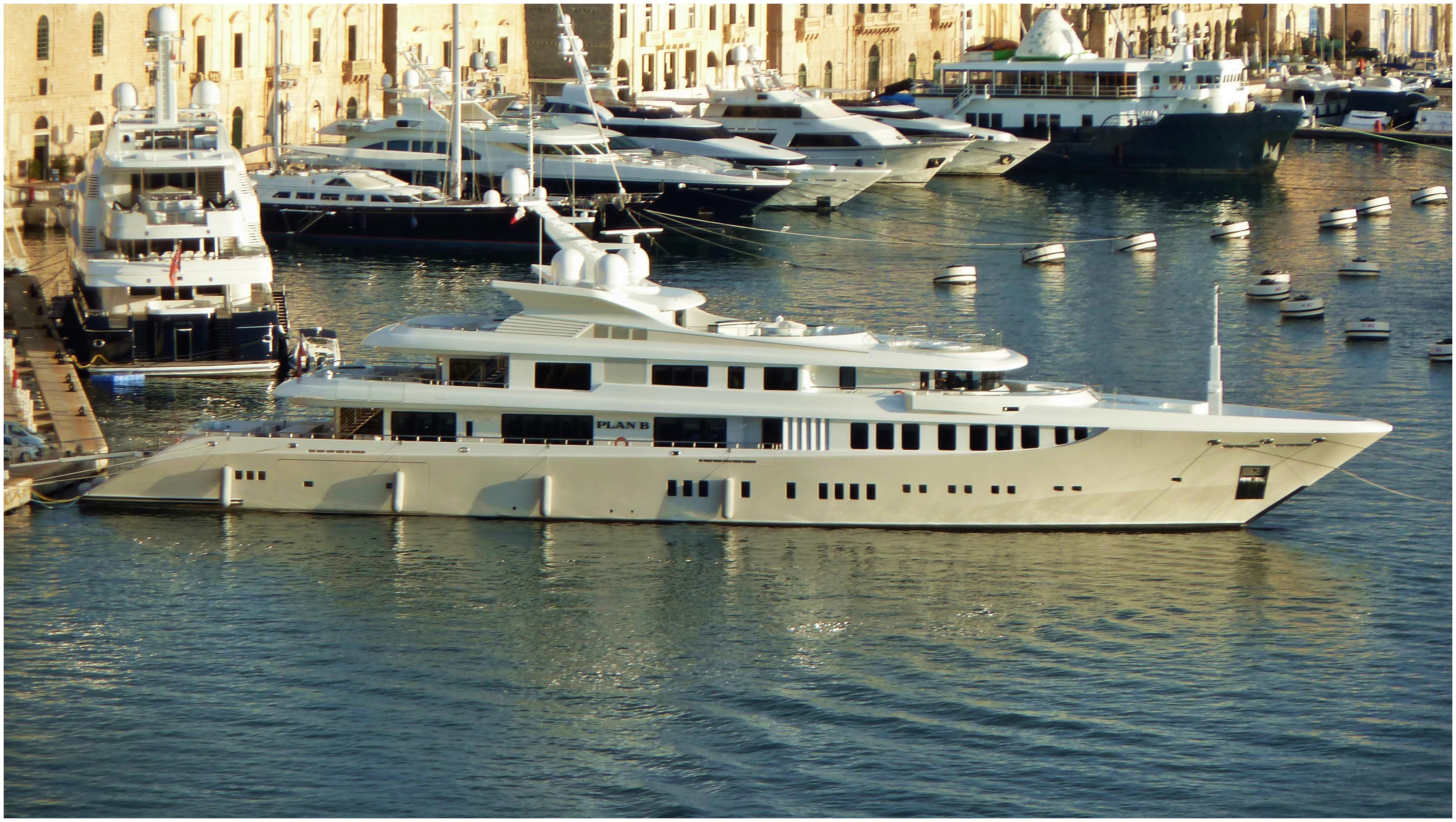 Plan B im Hafen von Malta