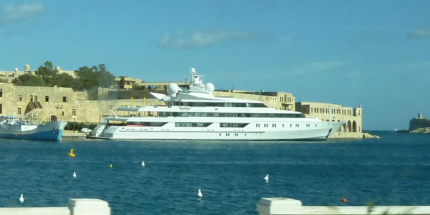 Indian Empress im Hafen von Malta