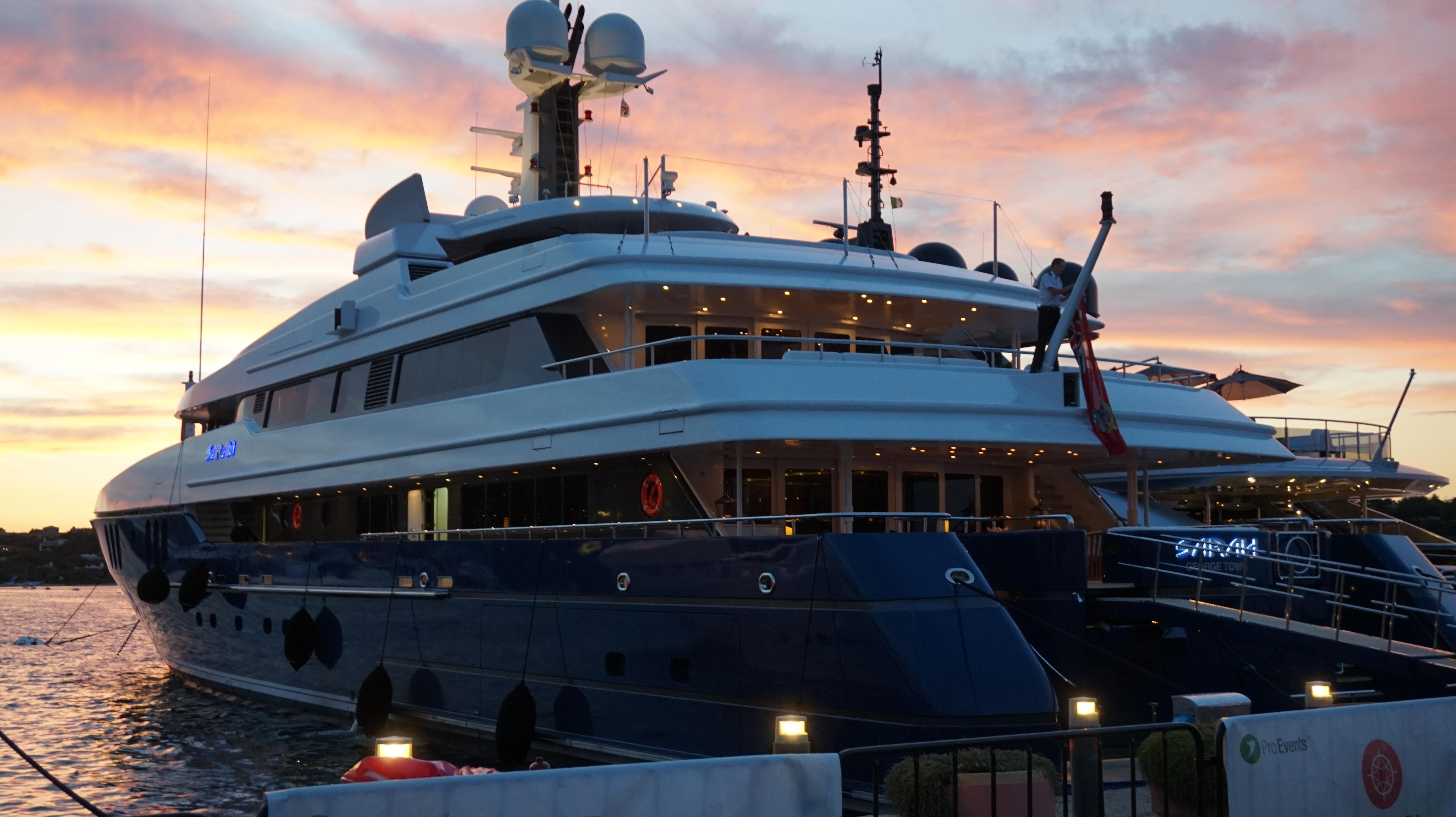 Sarah, 62m Amels Yacht in Porto Cervo