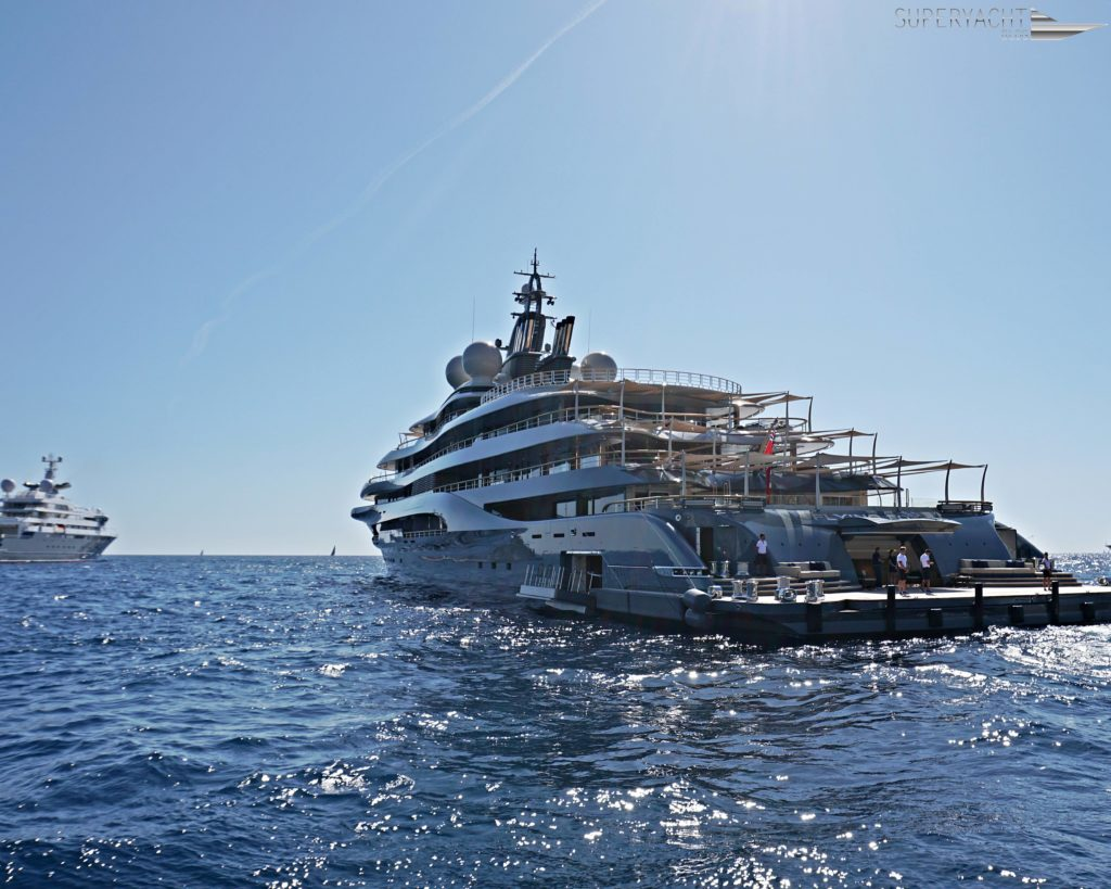 Flying Fox Lürssen Yacht in Monaco