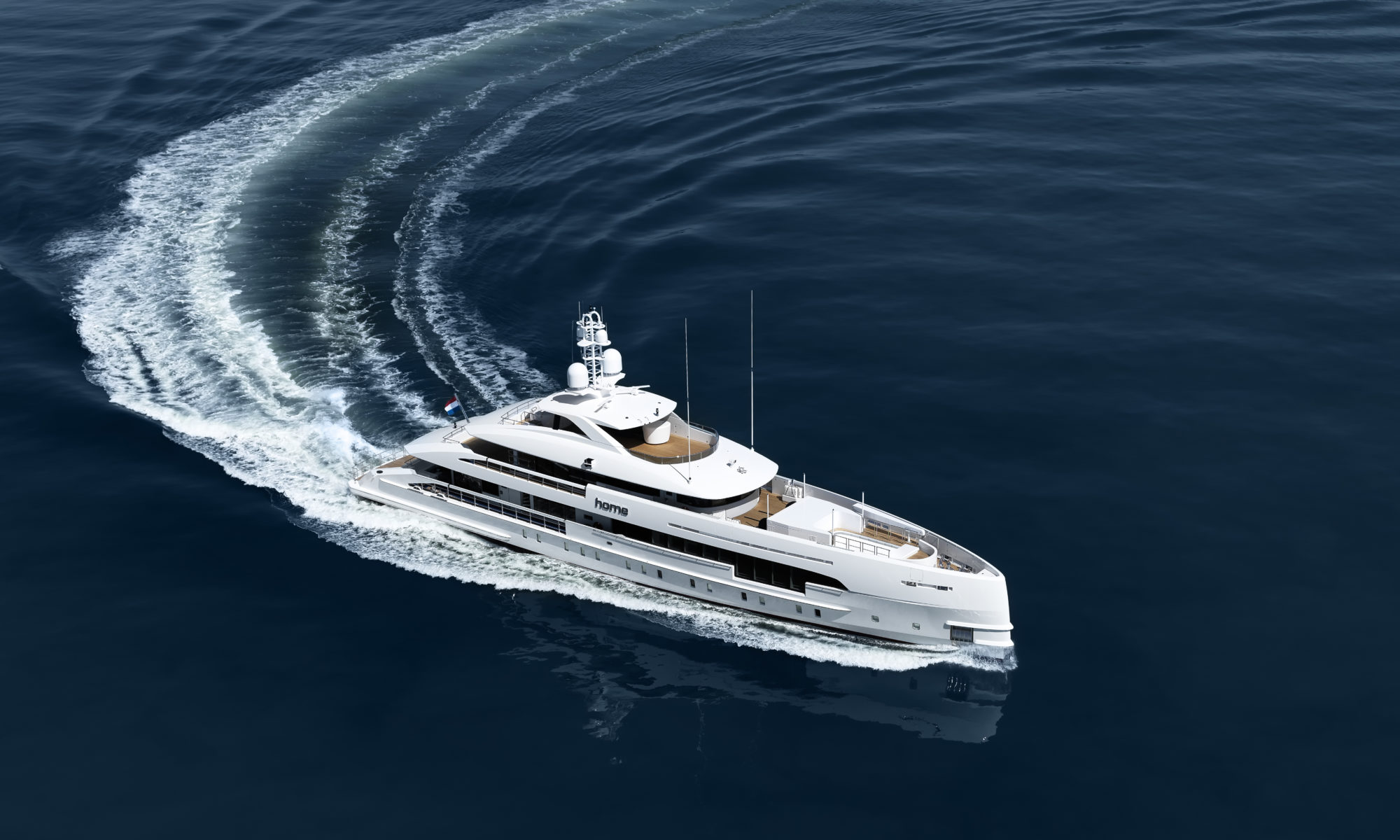 Home (Project Nova)  Picture: Dick Holthuis/ Heesen Yachts