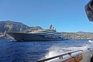 Flying Fox yacht in Monaco