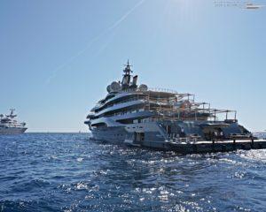 Flying Fox Lürssen Yacht in Monaco