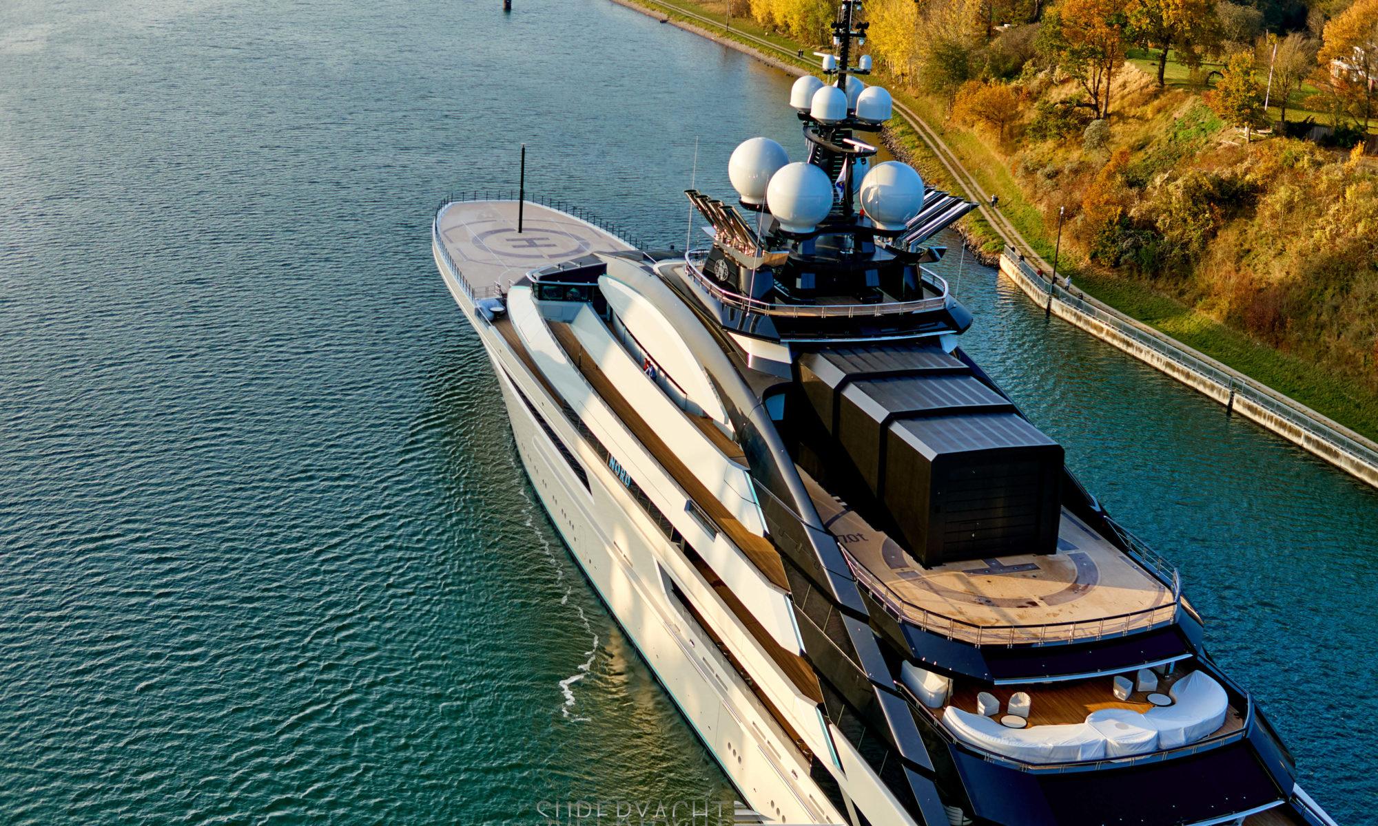 Superyacht Nord in Kiel